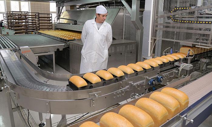 хлебобулочное производство конвейер