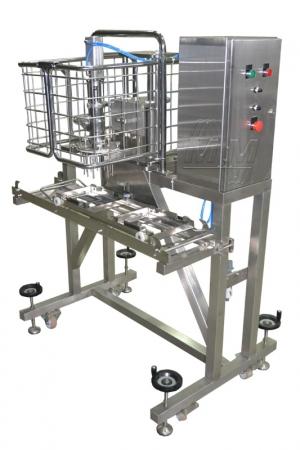Автомат инъектирования бисквитных коржей от Мастер Милк