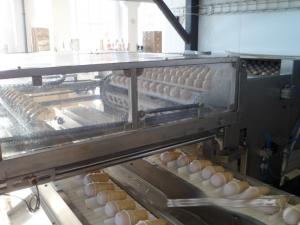 Автомат съема стаканчиков и рожков от Мастер Милк